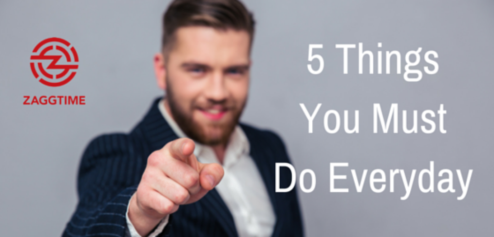 5 Things You Must Do -Win