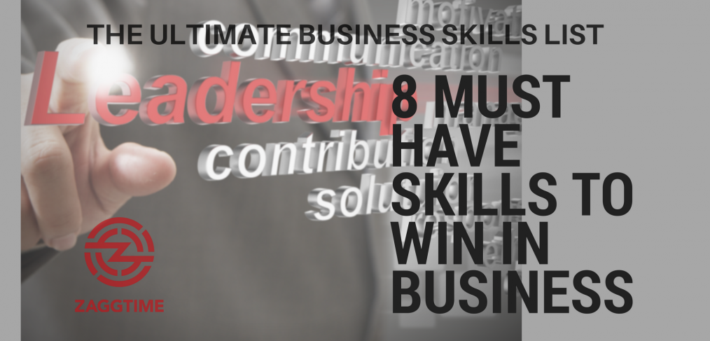business skills list
