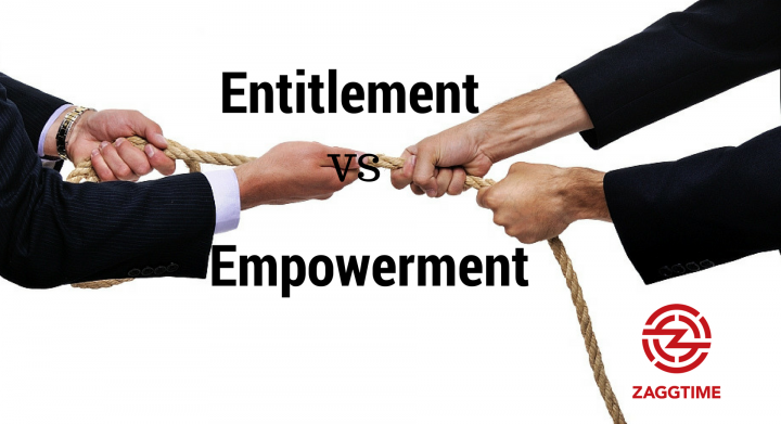 empowerment vs entitlement