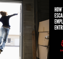 How to escape from employee to entrepreneur